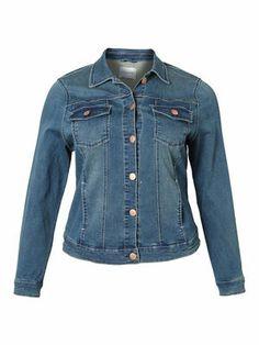 BIRD LS DENIM JACKET  #denim #jacket #blue #junarose @JUNAROSE