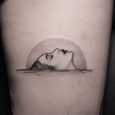 Bathing in the pale moonlight. By Welfare Dentist welfaredentist stickandpoke…