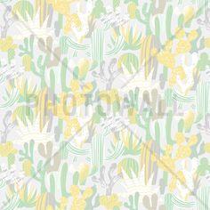 Cacti Green - Mural de pared y papel tapiz fotográfico - Photowall