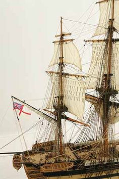 Close-up photos of ship model HMS Wellesley. HMS Wellesley was launched at Bombay in 1815 as a 74 gun ship. Model Ship Building, Old Sailing Ships, Close Up Photos, Hms Victory, Model Ships, Ship Of The Line, Wooden Ship, Submarines, Tall Ships