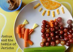 Creative Kid Snacks: Joshua and the battle of Jericho