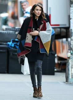 Alexa Chung out in...