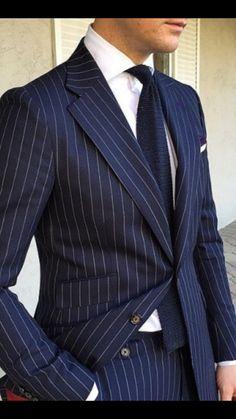 Mens Fashion Wear, Suit Fashion, Windowpane Suit, Dapper Man, Navy Blazers, Neil Armstrong, Bespoke Suit, Suit Shirts, Men's Suits