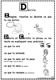 Enrichir sa phrase, son texte, I.D.E, dixmois Read In French, How To Speak French, French Teaching Resources, Teaching French, Core French, Teaching Schools, French Classroom, Language Study, French Teacher