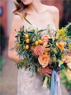 http://boards.styleunveiled.com/pin/2c573a074732c9dad456e1e9f9ffc238 < bouquet by Native Poppy | Mediterranean Inspired Wedding | Shane and Lauren Photography