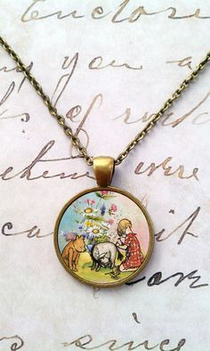 Winnie the Pooh Necklace!!!! must Have!!