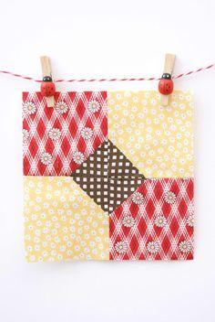 I LOVE LOVE LOVE the little ladybug-embellished clothespins!
