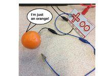 Talking Orange + Makey Makey + Scratch