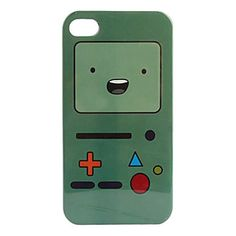 Cartoon Pattern Hard Case for iPhone 4 and 4S - USD $ 2.99
