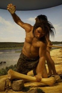 Stone Age People, Stone Age Man, Paleo Picnic, Caveman Costume, Best Survival Food, Survival Kit, Hunter Gatherer, Facts For Kids, Animal Bones