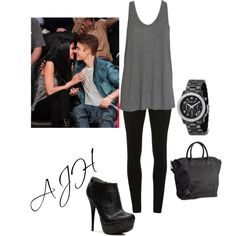 Inspired By Selena Gomez's Basketball Game Outfit.