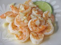 Hot Eats and Cool Reads: Honey, Garlic and Lime Shrimp Recipe
