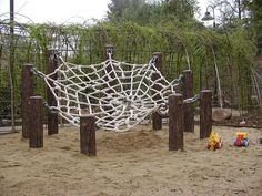 Natural Backyard Playground Design Ideas For Kids
