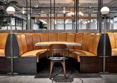 你會羨慕 Dropbox 的員工:因為他們在美國加州總部擁有這個工業風格的員工餐廳 18