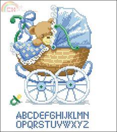 Vervaco 70.660 Dries Boy Bear Carriage.jpg
