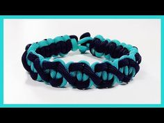 "Paracord Bracelet: ""Paralix"" Bracelet Design Without Buckle - YouTube"