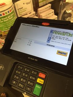 The #Ingenico Groupu0027s ISC480 In Action At Office Depot In Alpharetta, GA.  To Learn More About This Device, Please Click Here: Http://ingenu2026 |  Pinterest