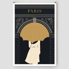 Umbrella, Arc de Triomphe .