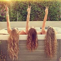 Image about hair in bffs by Victoria  on We Heart It Best Friends Tumblr, Best Friend Pictures, Cute Friends, Bff Pictures, Best Friends Forever, Squad Pictures, Bff Images, Miami Pictures, Squad Photos
