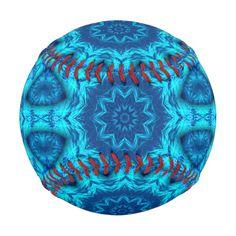 Blue ocean kaleidoscope pattern.