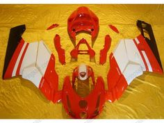 Ducati 749 / 999 2003-2004 Injection ABS Fairing - Others - Red/White | $659.00