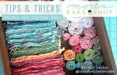 Tips & Tricks: Strips and Binding Ends « Moda Bake Shop