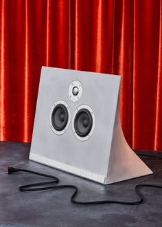 This Beautiful Speaker Is Made of Concrete. Yes, Concrete |   | Credit:Timothy Schutsky/Wired | From WIRED.com