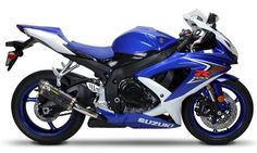 GSX-R. Baddest street bike out there- don't argue hah. (Minus that ridiculous looking license plate mount on the back)