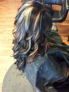 Black, Brown, & Blond Hair