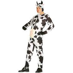 Disfraz de Vaca con Ubres para adulto