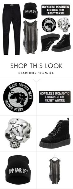 """""""Rebel Outfit"""" by rebelsmarket-0 on Polyvore featuring black, rebel, ootd and rebelsmarket"""