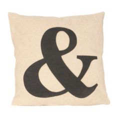 Ampersand Pillow | Kirkland's