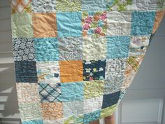 Lucy's Crab Shack quilt - via Etsy.  LOVE the quilting on it!!