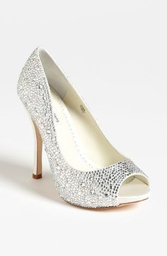 These might just be the shoes i purchase for my wedding day!!  Benjamin Adams Pump available at #Nordstrom