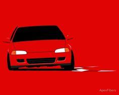 Honda Civic (EG) mid-corner