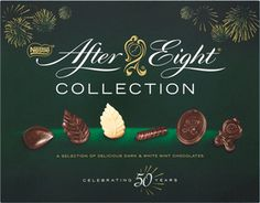 Food Ireland Nestle After Eight Carton After Eight Chocolate, How To Make Chocolate, Chocolate Truffles, Mint Chocolate, Online Supermarket, White Leaf, Marzipan, Christmas Treats, Make Me Happy