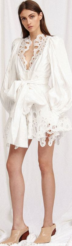 Vicount Eyelet Cotton Mini Dress by Acler Fashion 2020, Daily Fashion, Stylish Outfits, Fashion Outfits, Womens Fashion, White Cocktail Dress, Daily Dress, Lookbook, All About Fashion