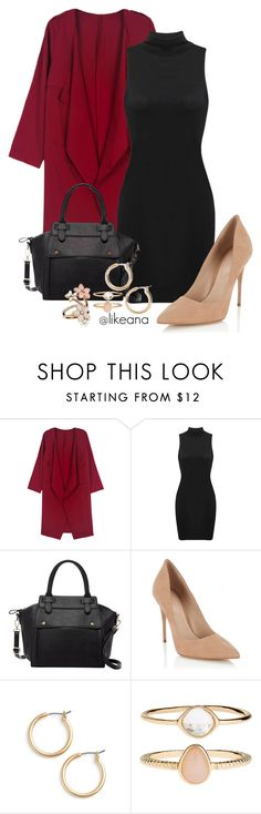 """Untitled #47"" by likeana ❤ liked on Polyvore featuring WithChic, Pink Haley, Lipsy, Nordstrom and Accessorize"