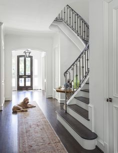 foyer and stairs   Coats Homes