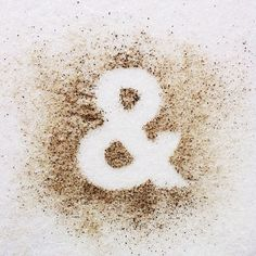 """Salt & Pepper"" typography by David Schwen. Food Typography, Typography Letters, Typography Inspiration, Graphic Design Inspiration, Poster Design, Design Art, Lettering Design, Hand Lettering, Great Fonts"