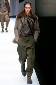 a1e9bd7a79d68 Giorgio Armani Refines Masculine Elegance for Fall  18