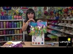 Bolsa decorativa/ bolsa de regalo - YouTube Creative Crafts, Diy And Crafts, Rapper Delight, Balloon Bouquet, How To Make Bows, Party Gifts, Gift Bags, Bridal Shower, Best Gifts