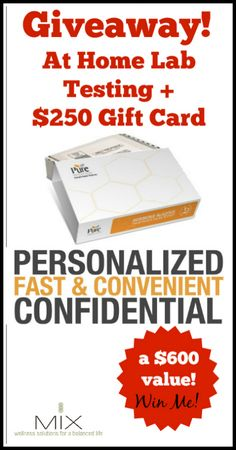 May Giveaway: At Home Lab Testing {a $600 value!} #hormones #health