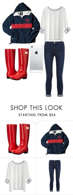 """""""Rainy day+ monogram"""" by polkadotgirl321 ❤ liked on Polyvore featuring Nicole Miller, Chicwish and Frame"""