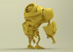 Iron Tiny on Behance