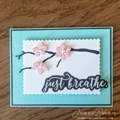Oh what a timely message.  Details of how this card came together, and to shop for products, check out my blog post!
