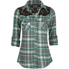 Lumberjill | Women's Flannel Shirt With Thumb Holes | Betabrand ...