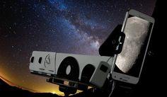 この望遠鏡を使って実際に月を撮影した映像がコチラ。スマホで月面撮影!「スマホ天体望遠鏡PANDA」というカワイイ名前からは想像が付かない性能の高さが話...