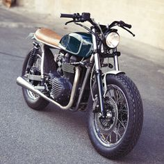 Triumph Bonneville T100 by Clutch Custom Motorcycles