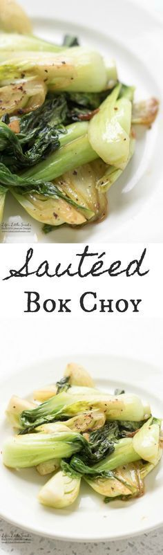 Sautéed Bok Choy is a delicious, savory, side recipe which goes great over rice and is a wonderful accompaniment to fish or meat. Bok Choy, also called, Chinese Cabbage, is a delicious vegetable that is a great source of calcium, magnesium, potassium, manganese, and iron. (vegan, gluten-free)